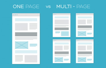 One page vs Multi Page