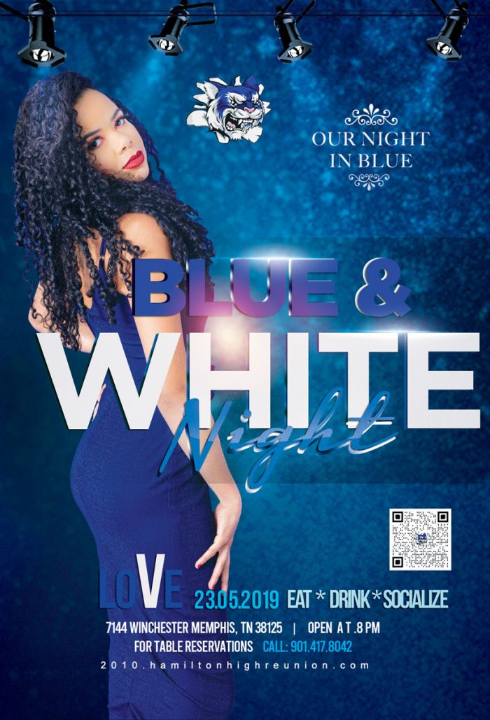 Reunion Blue & White Event